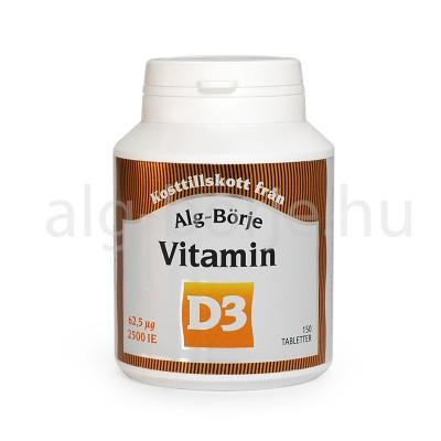 Alg-Börje D3 vitamin